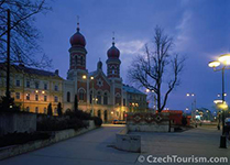 plzen-night